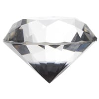 Clear Crystal Diamond Paperweight | Hobby Lobby