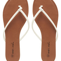 Knotted Flip Flops | Wet Seal