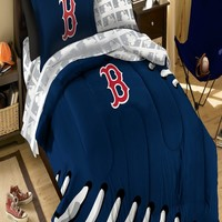 Northwest Co. MLB Boston Red Sox Twin Bed in Bag Set - 1MLB/88000/0004/RET