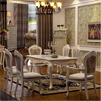 Antique Style Luxurious Dining Table Set