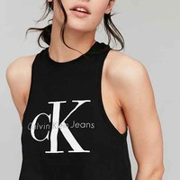 Calvin Klein For UO Cropped Tank Top