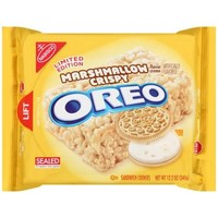 Nabisco Limited Edition Marshmallow Crispy Creme Oreo Sandwich Cookies, 12.2 oz - Walmart.com