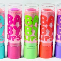 BellBelleBella: New! Maybelline Baby Lips Pink'd Collection for Spring 2014