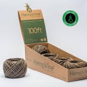 Hempvine Hemp Wick 100 ft Ball