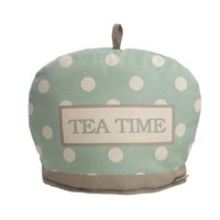T&G Cream and Country Tea Time Mint Spot Tea Cosy Cozie 20122