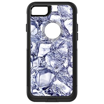DistinctInk™ OtterBox Commuter Series Case for Apple iPhone or Samsung Galaxy - Crystal Clear Ice