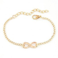 Women's Anklets Durable Gift 8 Shape Bracelet For Ankle