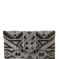 BEVERLY HILLS BEADED CLUTCH