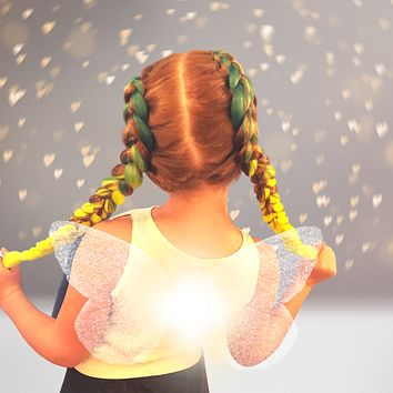 Colorful Synthetic Braiding Hair for Unicorns and Princesses