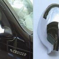Chrysler PT Cruiser Mirror Cover Set, (Folding Mirrors) Fits 2001, 2002, 2003, 2004, 2005, 2006, 2007, 2008, 2009, 2010