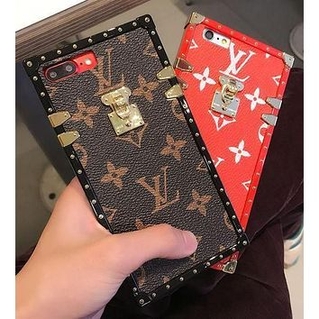 Hot LV Print  Iphone X 8 8 Plus/7 7 Plus/ 6 6s Plus Cover Case