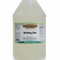 Wedding Cake Shaved Ice and Snow Cone Syrup – Gallon