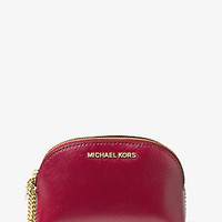 Jet Set Leather Pouch and Compact Set | Michael Kors