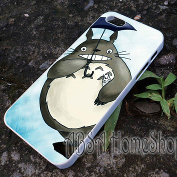 totoro umbrela case for iPhone 4/4s/5/5s/5c/6/6+ case,iPod Touch 5th Case,Samsung Galaxy s3/s4/s5/s6Case, Sony Xperia Z3/4 case, LG G2/G3 case, HTC One M7/M8 case