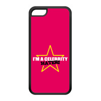 Celebrity Hater Black Silicon Rubber Case for iPhone 5C by Chargrilled