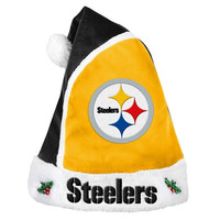 Pittsburgh Steelers  Official NFL 2015 Holiday Santa Hat