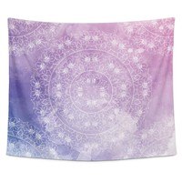 Pink And Purple Bohemian Tapestry