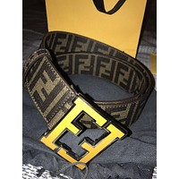 Fendi men's fashion belt F