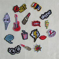 s sell high mixture sell patch melt adhesive applique embroiry patch DIY accessory patch C413-C431