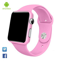 Smart Watch G10A paint pink bluetooth wristwatch for women adult answer call reloj con sim card Android Inteligente Smartwatch