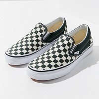 Vans Classic Slip-On Checkerboard Sneaker | Urban Outfitters