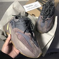 YEEZY 700 street fashion men and women retro wild breathable running shoes 2#