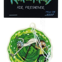 Rick and Morty, Portal Air Freshener, New Car Scent
