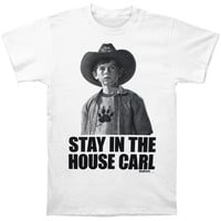 Walking Dead Men's  Stay In The House T-shirt White Rockabilia