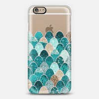 MERMAID SCALES iPhone6 transparent iPhone 6 case by Monika Strigel   Casetify