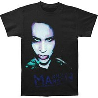 Marilyn Manson Men's  Oversaturated T-shirt Black