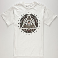 Cali's Finest Eye See You Mens T-Shirt White  In Sizes