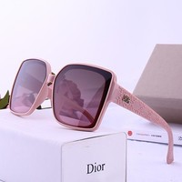 DIOR tide brand female model square retro driving polarized sunglasses #2