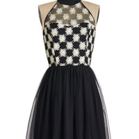 ModCloth Vintage Inspired Mid-length Sleeveless A-line Fell in Love with a Twirl Dress