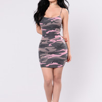 Aftermath Dress - Blush