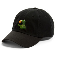 Frog Sipping Tea Dad Hat