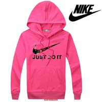 Nike Women Men Casual Long Sleeve Top Sweater Hoodie Pullover Sweatshirt
