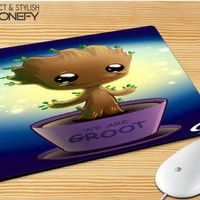 Guardian Of The Galaxy Baby Groot Dancing 02 Mousepad Mouse Pad|iPhonefy
