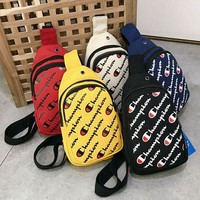 Champion Fashion Sport Laptop Bag Shoulder School Bag Backpack Travel Bag Bookbag Sport Laptop Bag School Bag