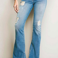 S&P By Standards & Practices Retro Flare Jean