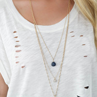 Last Call Layered necklace