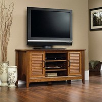 Cherry TV Stand Home Entertainment Media Center Console Cabinet Wood Furniture