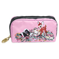 Bambi's Buddies Rectangular Cosmetic Bag by LeSportsac | Disney Store