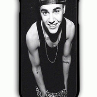 iPhone 6S Plus Case - Hard (PC) Cover with justin bieber smile Plastic Case Design