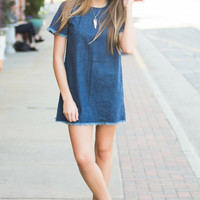 Blogger Babe Denim Dress