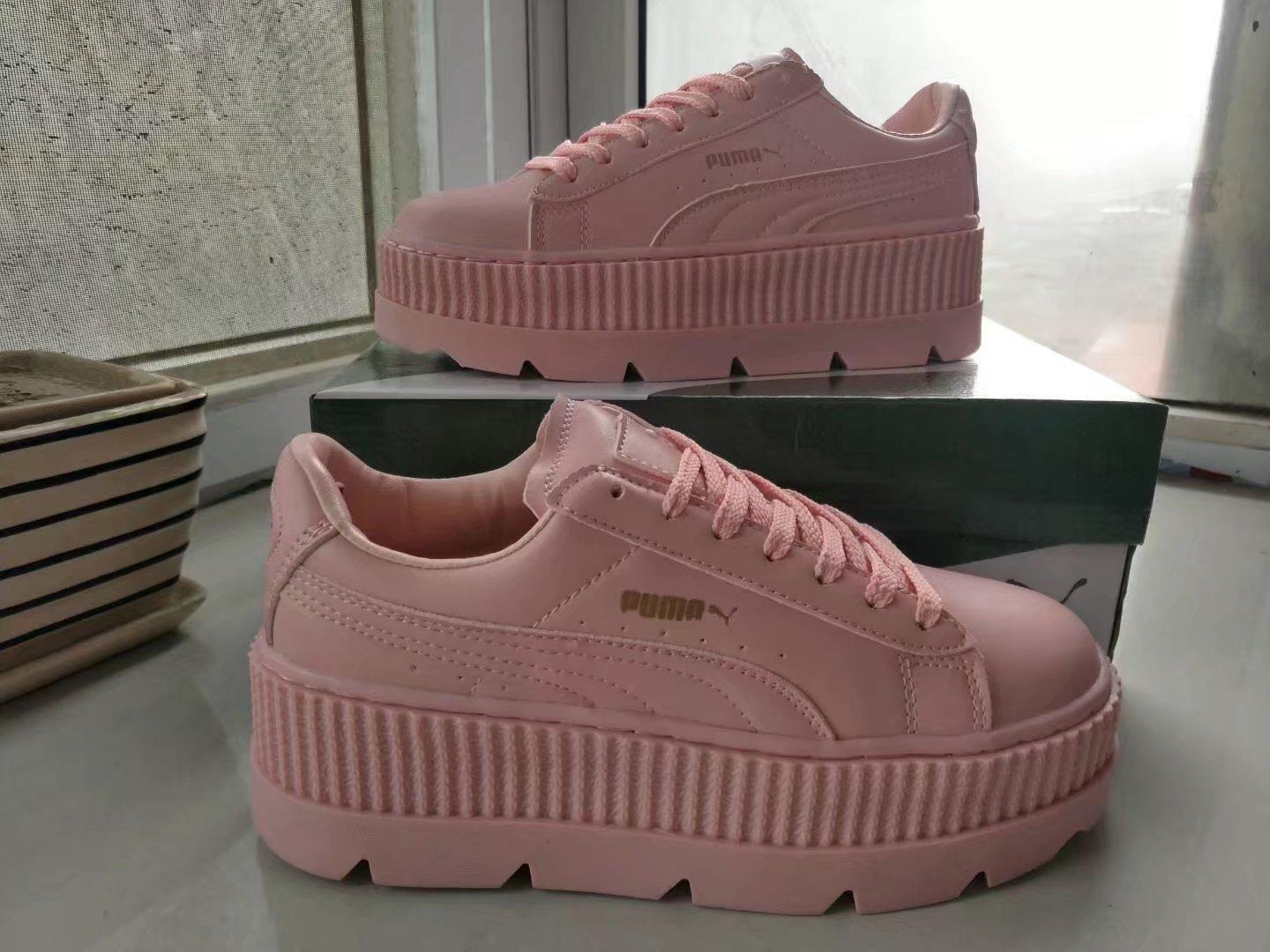 """Image of """"Puma x Fenty Rihanna"""" Women Fashion Casual Solid Color Thick Bottom Piatforam Plate Shoes Sneakers"""