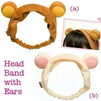 San-X Rilakkuma Hair Band with Bear Ears