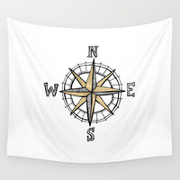 North Wall Tapestry by Tangerine-Tane