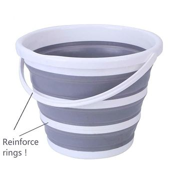 Collapsable Silicone Bucket