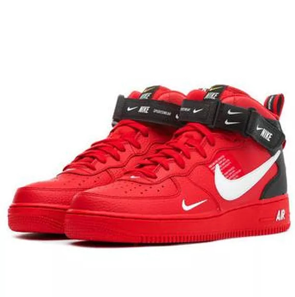 Image of NIKE AIR FORCE 1 MID 07 Tide Brand Simple Version OW High-Top Sports Shoes