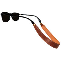 Sounder Goods Leather Sunglass Strap - Cognac